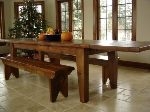 Harvest Table in various lengths
