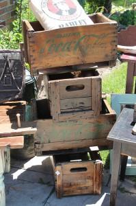 Old Pop Crates