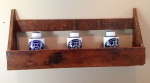 Spice/Jar wall holder