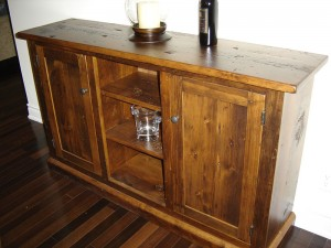 Old Pine Sideboard 35H x 60L x 18D