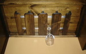 Custom stemware holders
