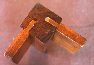 Centuries Old Mortise and Tenon Joinery with Wood Pegging
