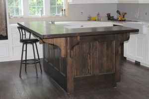 Custom Executive Kitchen Island
